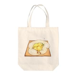 目玉焼きトースト♡ Tote bags