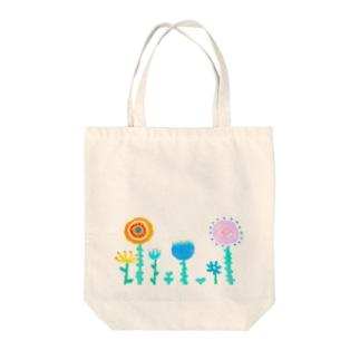 hoshi shopのflowers Tote bags
