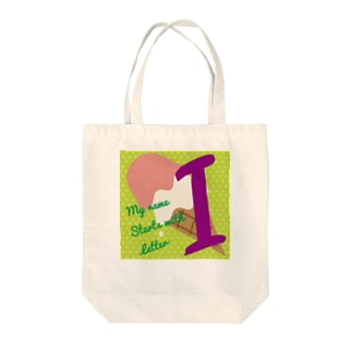 MY name start with I for kids Tote bags