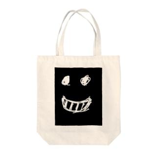 「笑顔」 Tote bags