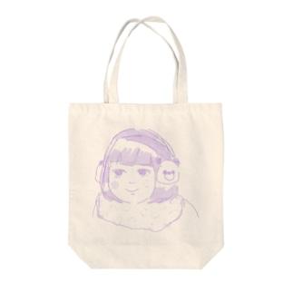 冬仕様少女 Tote bags