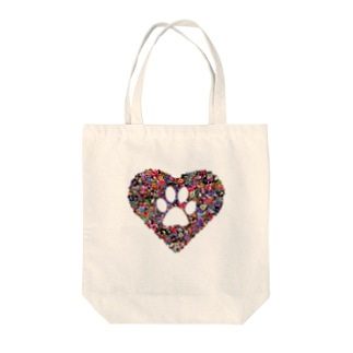 Sweet paw Tote bags