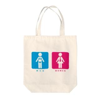 MEN&WOMEN Tote bags
