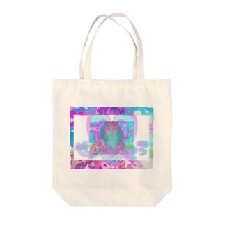 キラキラレボリューション Tote bags