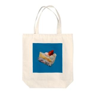 いちごのケーキ Tote bags