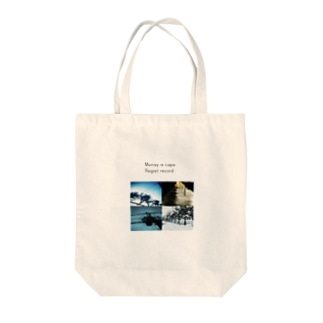 regret record Tote bags