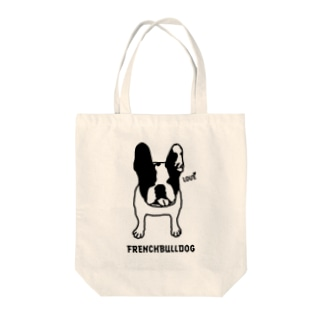 FRENCH LOVE Tote bags
