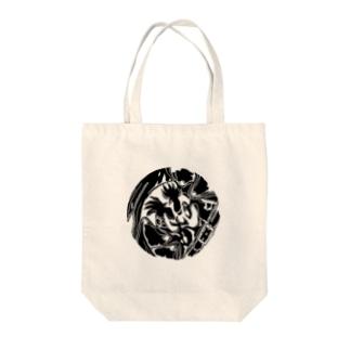 闘鶏 Tote bags