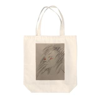 くしゃみ Tote bags