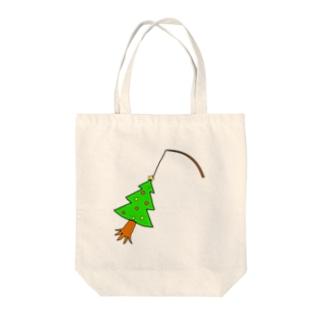 ツリー Tote bags