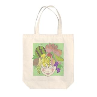フルーツ娘 Tote bags