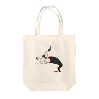 戦慄ジャーマン Tote bags