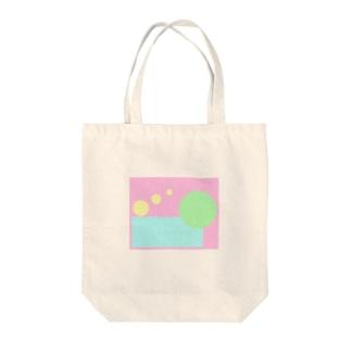 ふんわり Tote bags