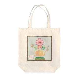 パッションフラワー【ハーブピクシーNo.1】 Tote bags