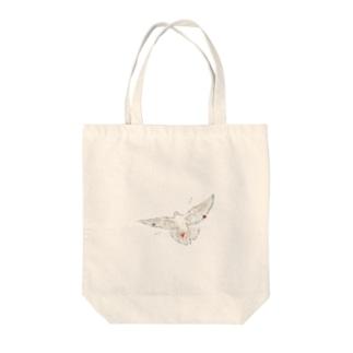 ひまの平和の象徴 Tote bags