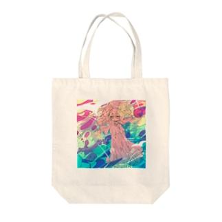 ひつじおトート Tote bags