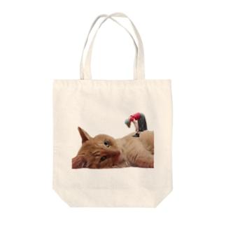 ほのかすまいる🐱歌×猫のほのけんグッズ2020! Tote bags