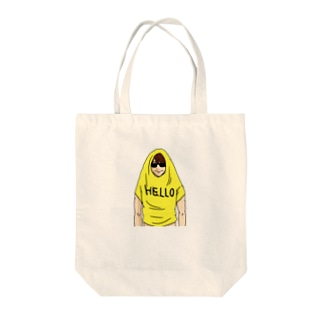 HELLO君 Tote bags