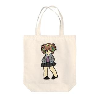 ハナカザリ系女子 Tote bags