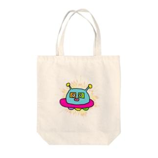 おとぼけUFO丸 Tote bags