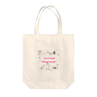 love yourself&Travel Tote bags