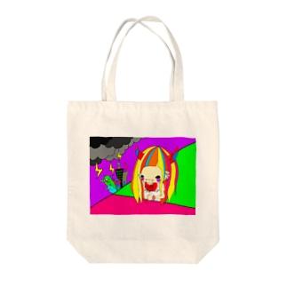ハロウィ―――ン Tote bags