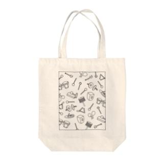 パーカッション Tote bags