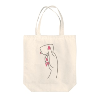 泣きぼくろトート Tote bags