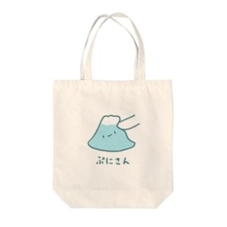 ぷにさん Tote bags