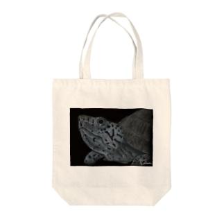 カブトニオイガメ Tote bags