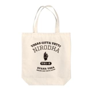 NIRODHA Tote bags