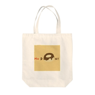 Miss ドーナツ Tote bags