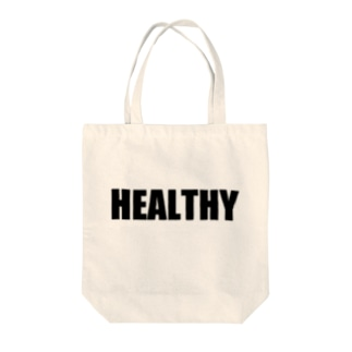 HEALTHY Tote bags
