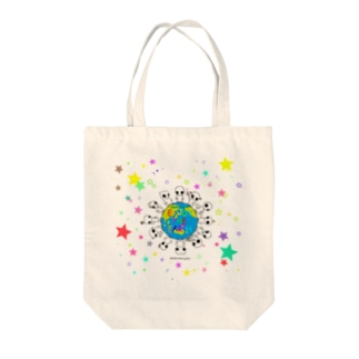 宇宙人みちお Tote bags