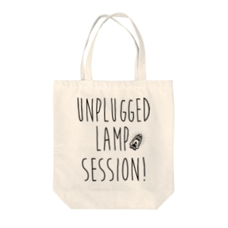 Unplugged Lamp Session type logo Tote bags