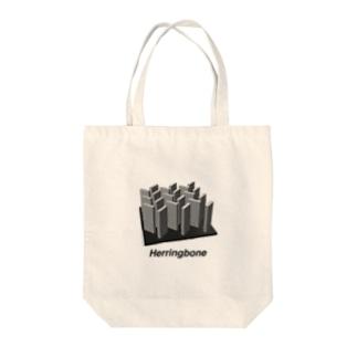 Herringbone Tote bags