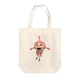 コスモキッズ/ポルカ Tote bags