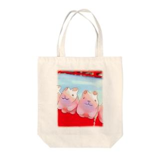 神社のうさぴょん Tote bags