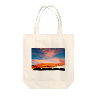 GooD~Morning Canadian Rocky Tote bags