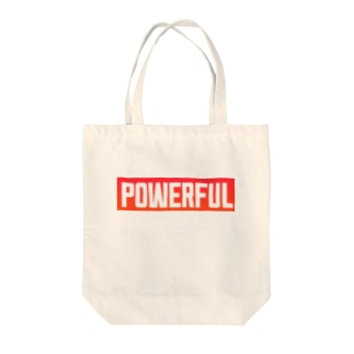 POWERFUL Tote bags