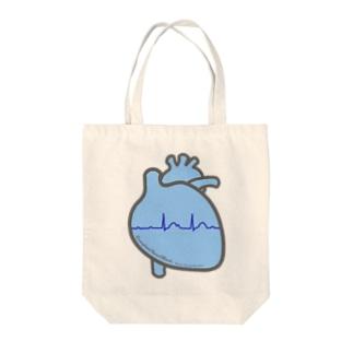 とにかく心臓 completeAVB Tote bags