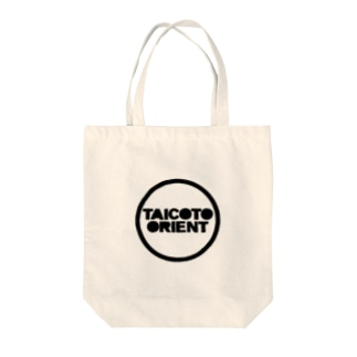 Round Logo Tote bags