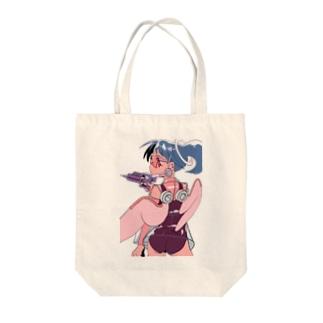 キューピッド Tote bags