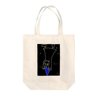 宇宙転落少女 Tote bags