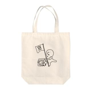 OYA=G=MOMOMO Tote bags