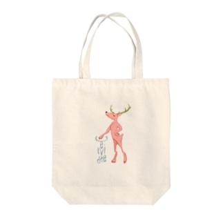 鹿のCさん。その3。 Tote bags