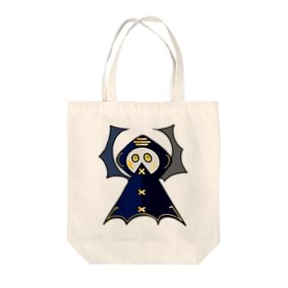 コウモリレインコート氏 Tote bags