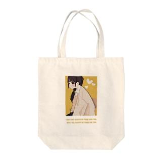 MIKATAちゃん Tote bags