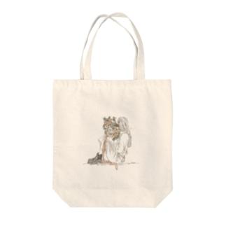 フラワーガール Tote bags