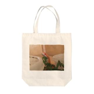 ミレク君 Tote bags